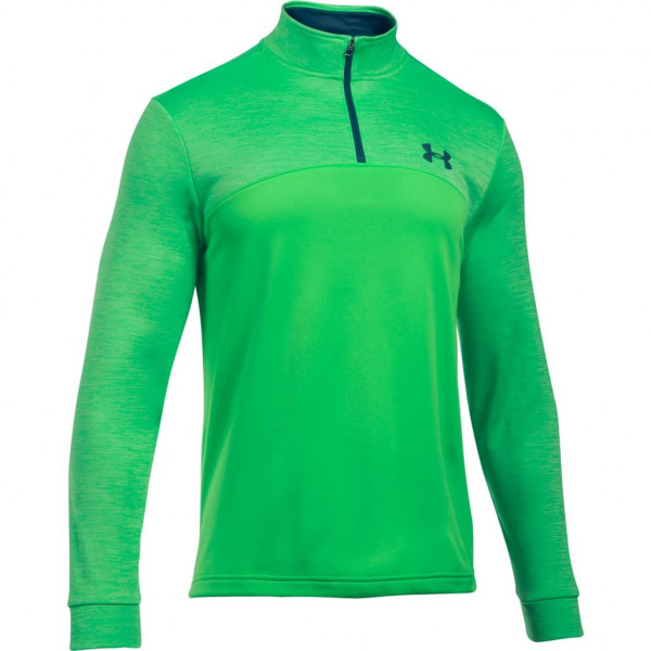 Mikina UNDER ARMOUR Storm AF Icon 1/4 Zip Green