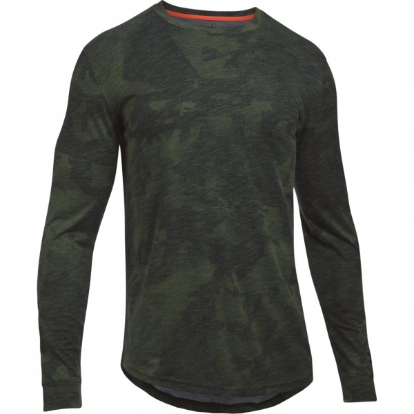 Tričko UNDER ARMOUR Ls Sportstyle Core Tee Camo