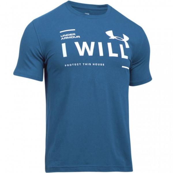 Tričko UNDER ARMOUR I Will Ss Blue