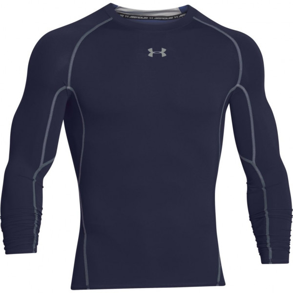 Kompresný vršok UNDER ARMOUR HeatGear Ls Navy