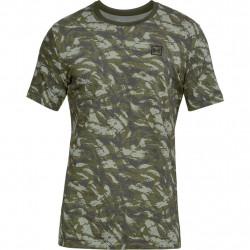 Tričko UNDER ARMOUR Aop Sportstyle Tee Green