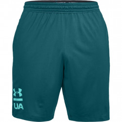 Kraťasy UNDER ARMOUR Mk1 Graphic Short Green