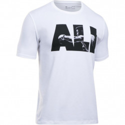 Tričko UNDER ARMOUR Ali Jab Tee White