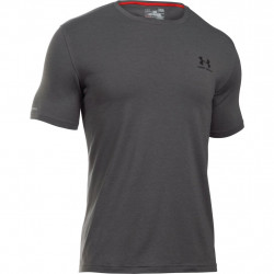 Tričko UNDER ARMOUR Cc Left Chest Lookup grey