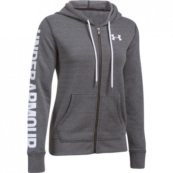 Mikina UNDER ARMOUR Favorite Fleece FZ Grey