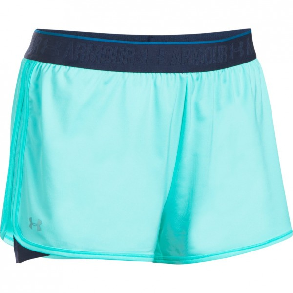 Kraťasy UNDER ARMOUR HG Armour 2-in-1 Shorty Turquoise