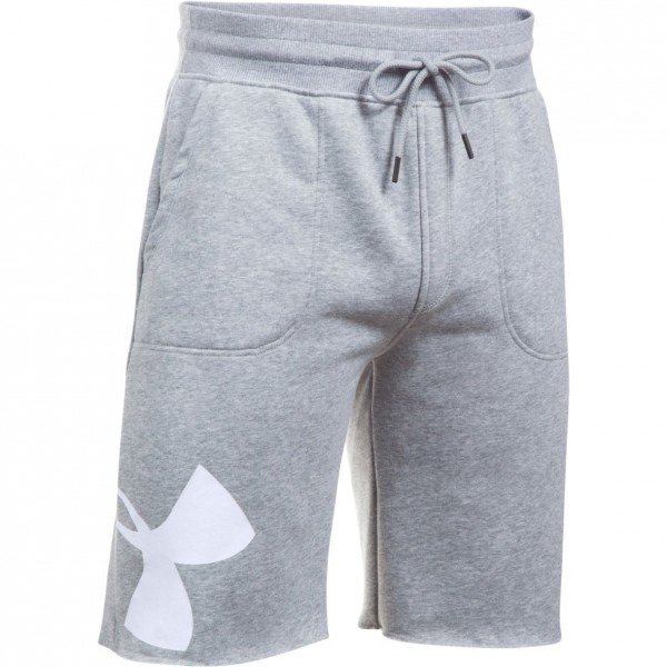Kraťasy UNDER ARMOUR Rival Exploded Graphic Short Grey