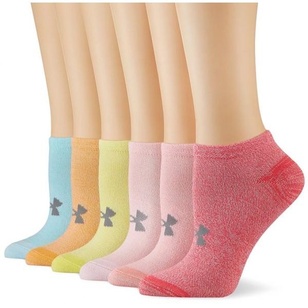 Ponožky UNDER ARMOUR W ESSENTIAL COTTON NS 6PK
