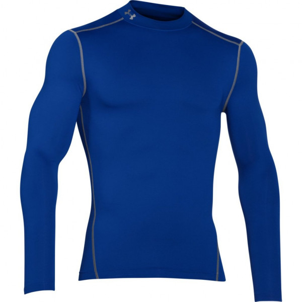 Kompresný vršok UNDER ARMOUR ColdGear Mock Blu