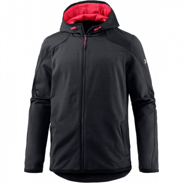 Mikina UNDER ARMOUR Reactor Full Zip Black