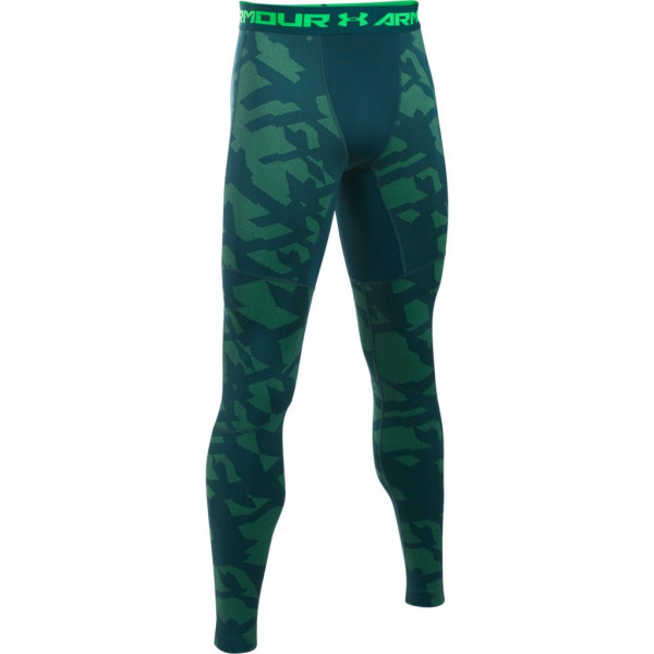 Legíny UNDER ARMOUR ColdGear Jacquard Legging