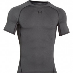 Kompresný vršok UNDER ARMOUR HeatGear Ss Grey