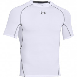 Kompresný vršok UNDER ARMOUR HeatGear Ss White