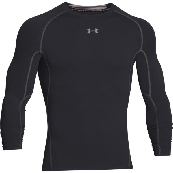 Kompresný vršok UNDER ARMOUR HeatGear Ls Black