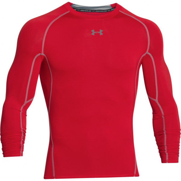 Kompresný vršok UNDER ARMOUR HeatGear Ls Red