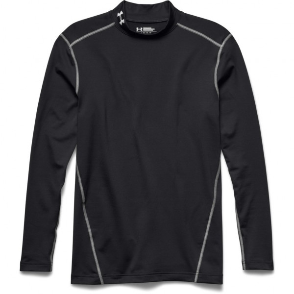 Kompresný vršok UNDER ARMOUR ColdGear Mock Blk
