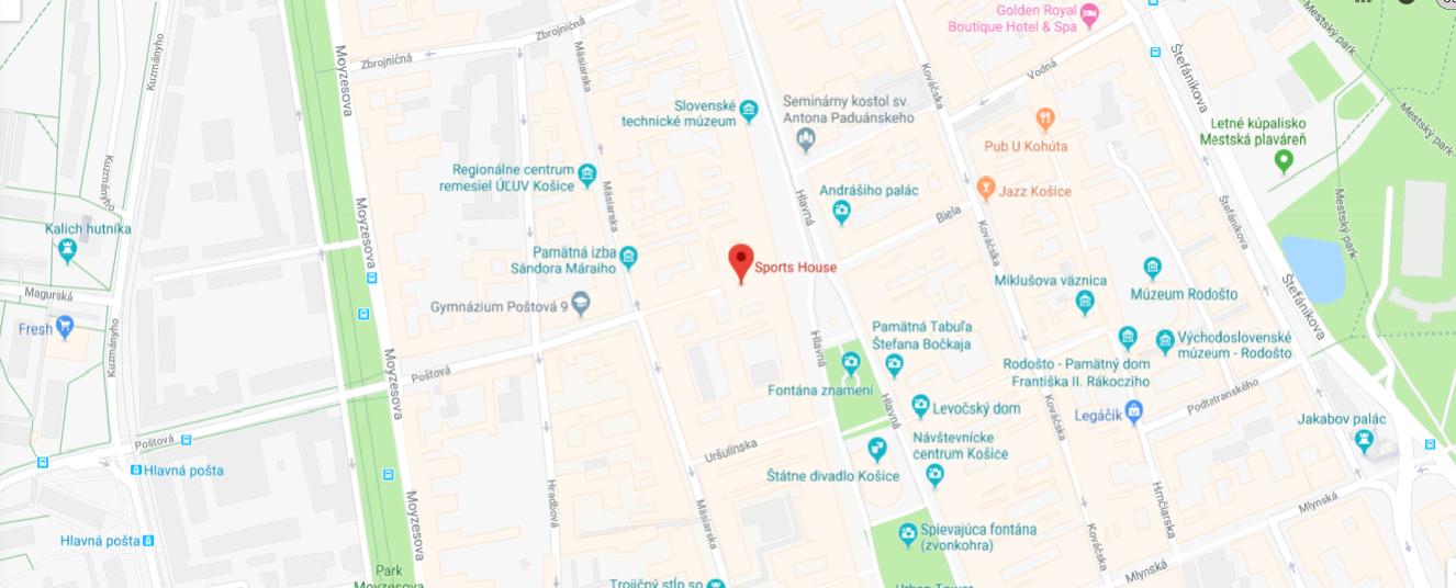 Sports House Google